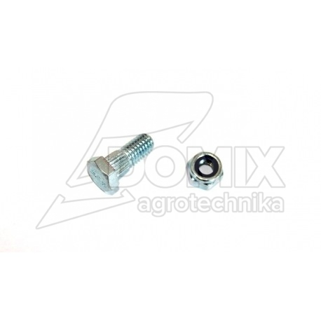 Śruba nożyka kosy M6x16 z nakrętką 420100012