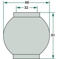 Kula 3 do śruby centralnej 32, 60, 51 mm