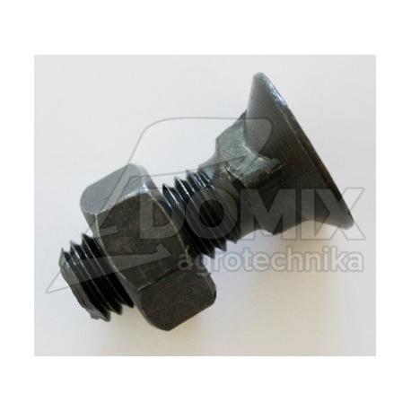 Śruba płużna M12x35 kl.10,9 DIN608 SR-5000-1235-10