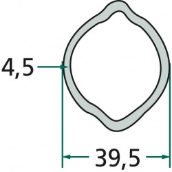 Rura profilowa G5 typ cytryna fi zew.39,5mm