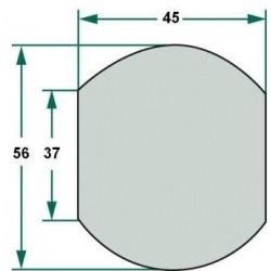 Kula 3/2 37, 56, 45 mm