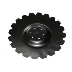 Talerz uzęb. 510mm Z20 wpust pod piastę 6ot 3,5mm