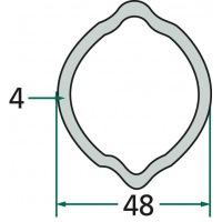 Rura profilowa G6 typ cytryna fi zew.48mm