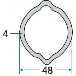 Rura profilowa G6 typ cytryna fi zew.48x 57,50mm