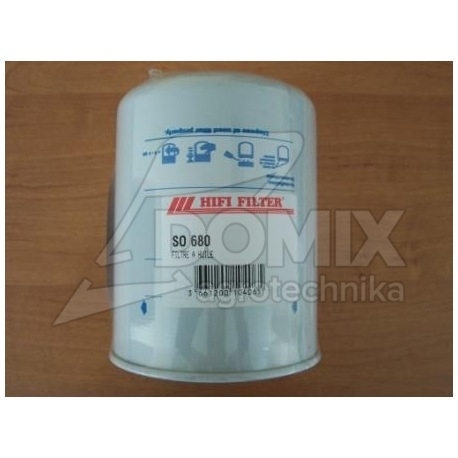Filtr oleju SO680