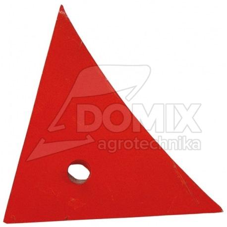 Pierś odkładni prawa 063240 1-otworowa 8mm