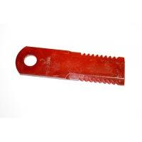 Nóż sieczkarni ruchomy ryflowany 87318316