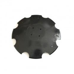 Talerz uzęb 460mm 4-otw pod piastę prosty 3,2mm