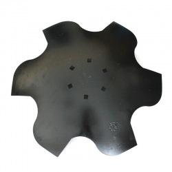 Talerz skrajny prawy 510 6-otw. z6 gr 4 mm