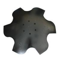 Talerz skrajny lewy 510 6-otw. z6 gr 4 mm