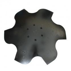 Talerz skrajny lewy 510 6-otw. z6 gr 3,5mm