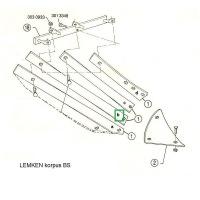 Listwa odkładni BS20 lewa 3444035 Lemken