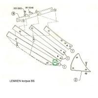 Listwa odkładni BS20 lewa 3444045 Lemken