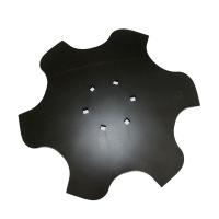 Talerz skrajny lewy 460 Z6 6otw. gr.4 mm