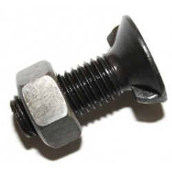 Śruba 2-noski M12x90 kl. 10,9 duży łeb D11014