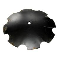 Talerz uzębiony 560mm Z7 ośka 30x30 gr.4mm