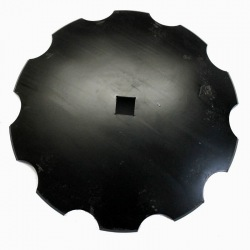 Talerz uzębiony 560 Z10 ośka 40x40 gr.5mm VIS