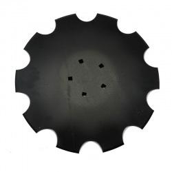 Talerz uzęb 460mm Z8 5-otw prosty pod piaste 4mm