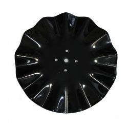 Talerz falisty 500x5mm 4-otw rozst. 98mm 1996-20
