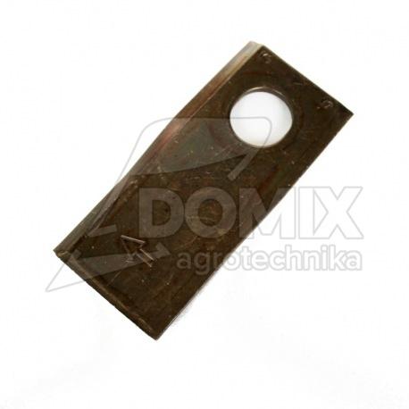 Nożyk prawy Kverneland 105x48mm fi 20,5x23