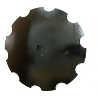 Talerz uzębiony 660x6 Z10 ośka 30x30 mm VIS