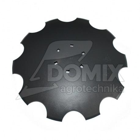 Talerz uzęb 510mm Z10 6otw. 122mm gr.4mm 1904-20M