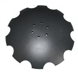 Talerz uzęb 560mm Z10 6-otw. 122mm gr4mm 1904-22M