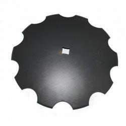 Talerz uzęb 610mm gr6mm ośka 40x40 1904-24M C41