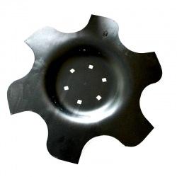 Talerz 460 z wpust pod piastę 6otw AM z6 gr3,2mm