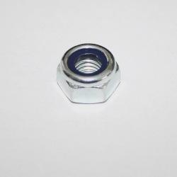 Nakrętka samohamowna M20 kl.10 ocynk biały
