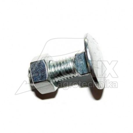 Śruba zamkowa z niskim zamk M12x30 kl. 8,8 ocynk