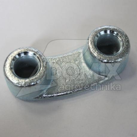 Mocowanie zęba 38100218 rozstaw 50 mm