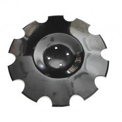 Talerz uzęb 510x4mm z10 wpust pod piastę 4otw Ares