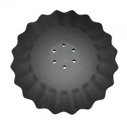 Talerz agresywny, falisty 520×5mm 6-ot KM060230VIS
