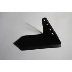 Lemiesz boczny prawy 172,5mm 4-otw 00311329 Horsch