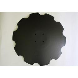 Talerz 580x5mm 4-otw 9771.03.025.1VIS