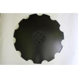 Talerz uzę 610X5mm 8-otw TCS/DIS/503 VIS