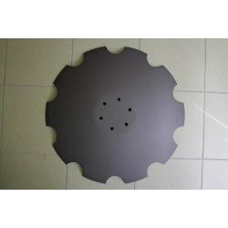 Talerz uzębiony 6-otw 620x6mm 00311103 VIS