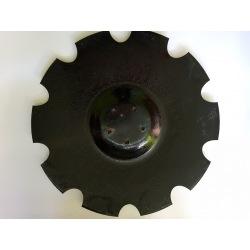 Talerz uzęb 610mm z10 wpust pod piastę 5-otw gr.6