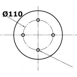 4 otworowe - rozstaw 110mm